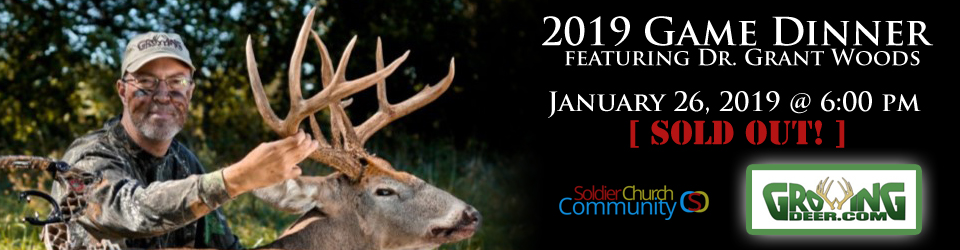 Wild Game Dinner – Grant Woods – Soldier Community Church